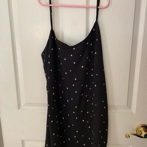 Reformation Black Star Dress